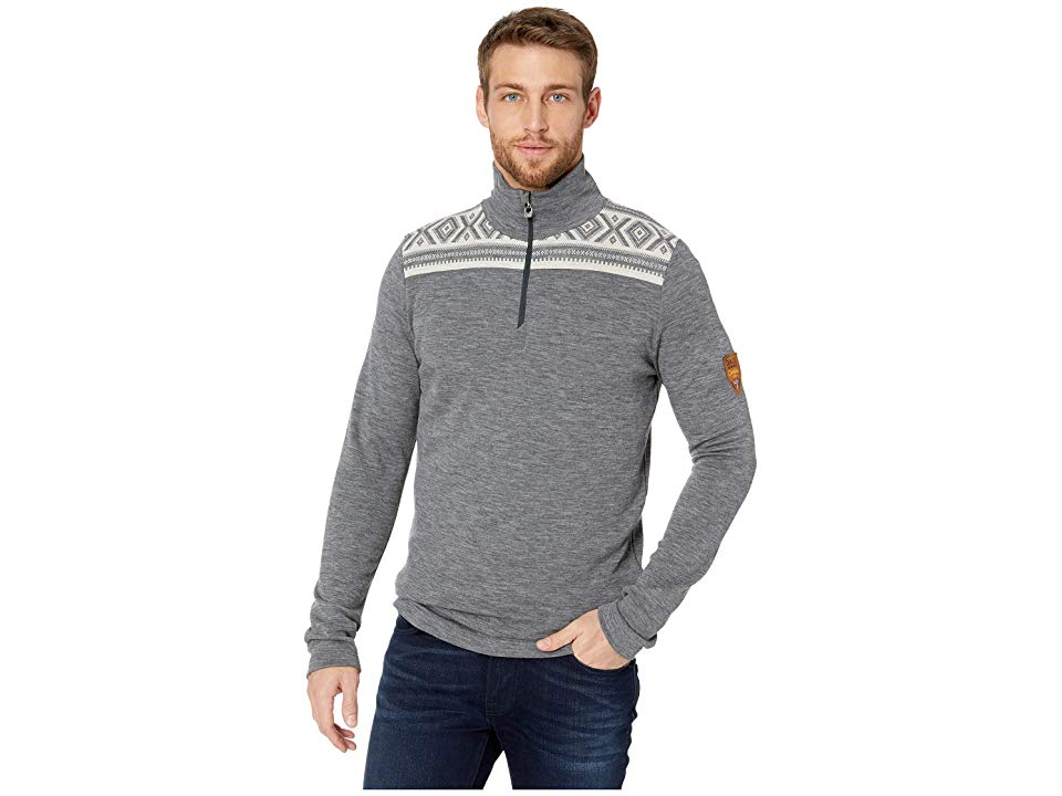 27a35109 Dale of Norway Cortina Merino Masculine Sweater (E-Smoke/Black) Men's  Sweater. The Dale of Norway Cortina Merino Masculine Sweater is based off  of a classic ...