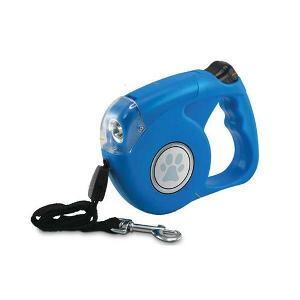 Retractable Dog Leash w/ 4 Built in LED Lights! $11.95