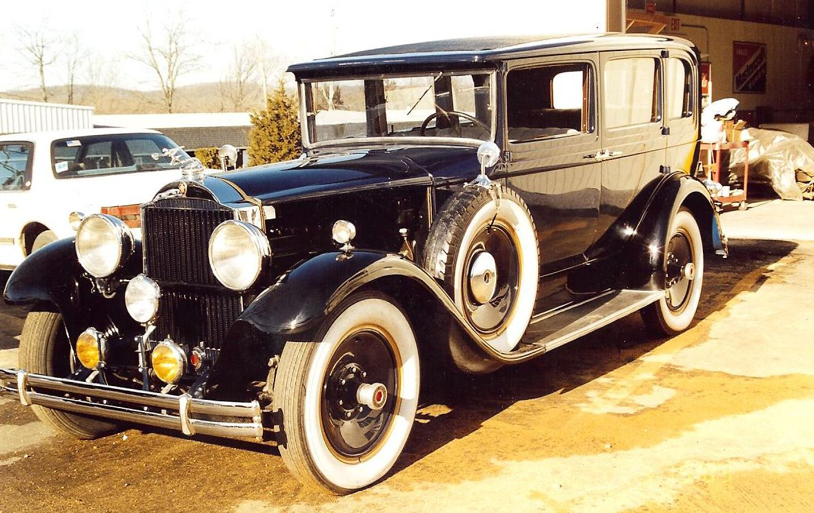 1929 Packard was an American luxury automobile marque built by the ...