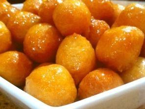Luquaimat - small sweet dumplings made from butter, milk ...