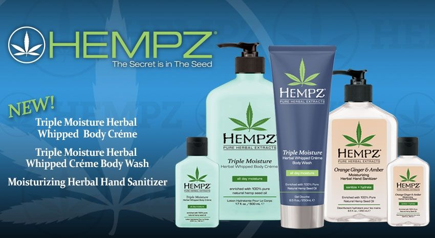 Hemp Seed Body Lotions Body Creme Body Wash Hand Sanitizer