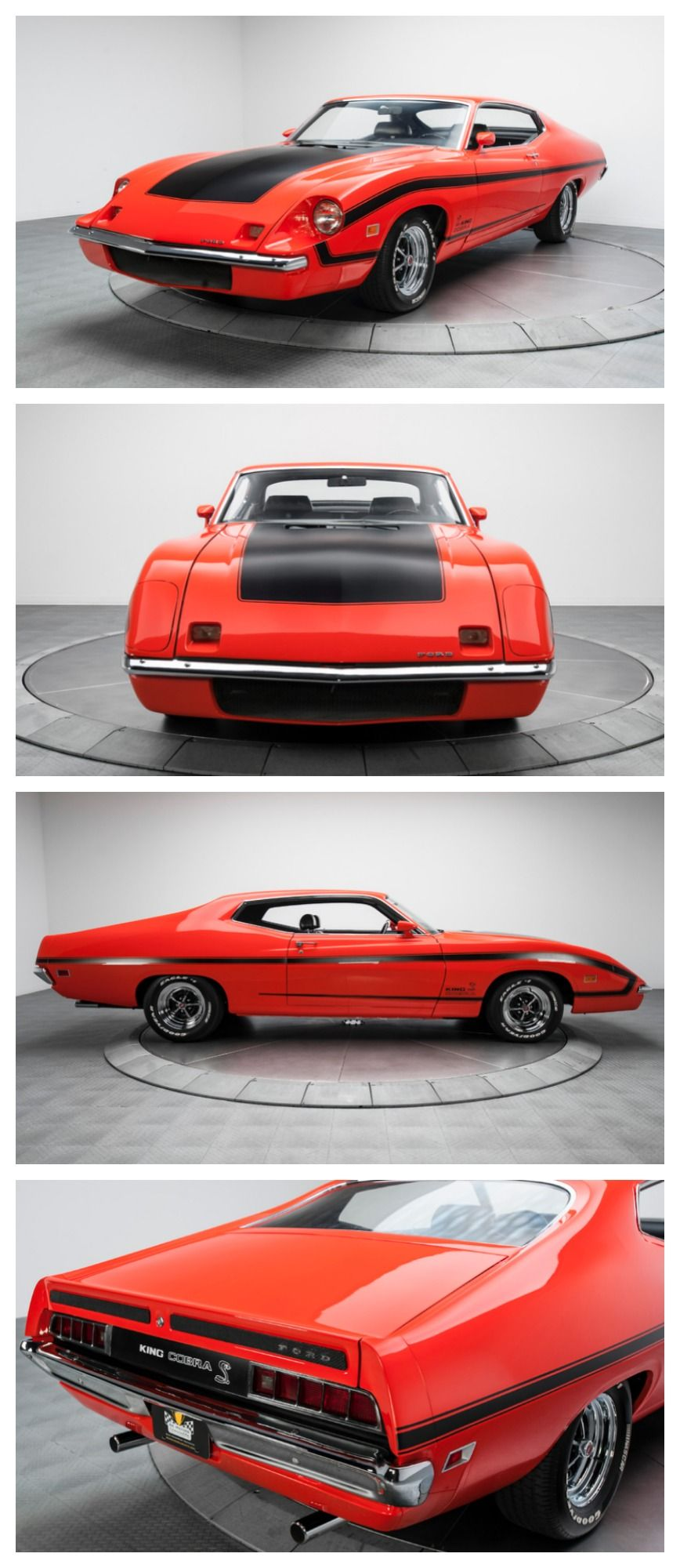 Meet Muscle Car Royalty: The Ford Torino King Cobra. #ThrowbackThursday