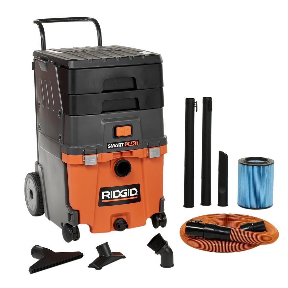 3.5-Peak HP Portable Pro Wet Dry Shop Vacuum Professional Jobsite RIDGID 3 Gal