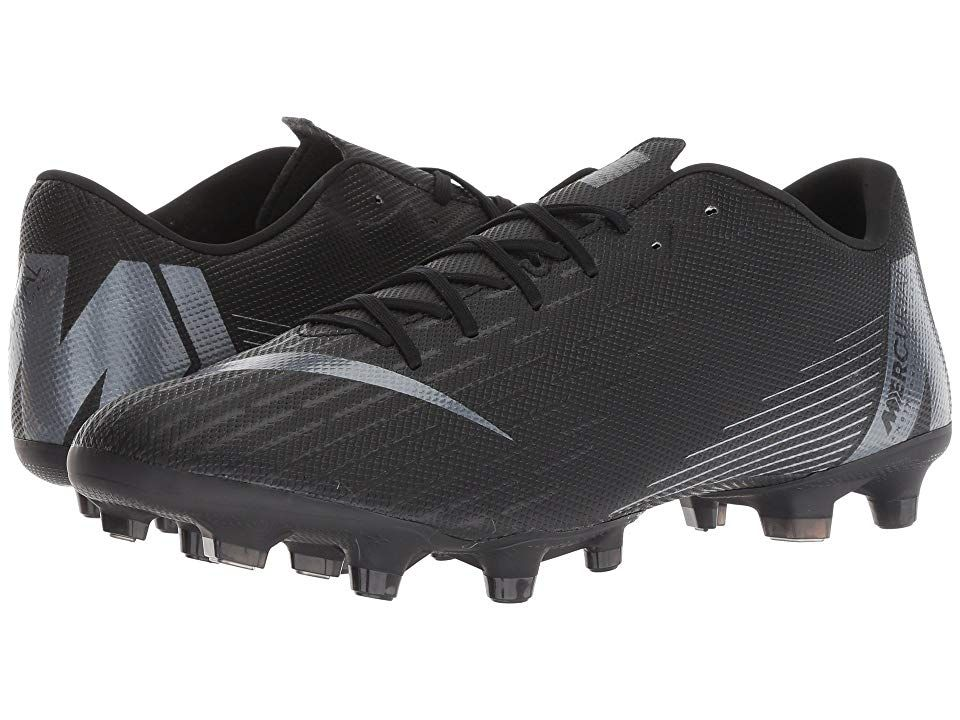 Nike Vapor 12 Academy MG BlackAnthraciteBlackLight Crimson Mens Soccer Shoes Make sure you bring your best moves to the next match with the Vapor 12 Academy MG soccer cle...