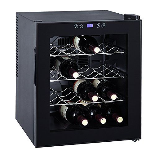 Smeta Thermoelectric Wine Cooler Refrigerator Cabinet Counter Top