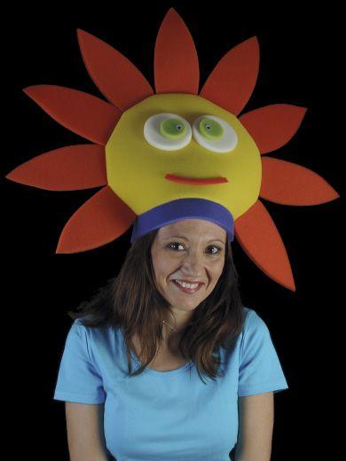 Gorro Gomaespuma Sol Sombreros Cotillones Crazy Hat Day Crazy