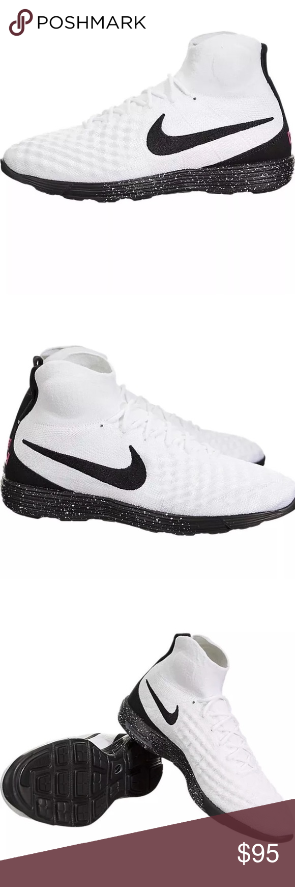 best website 26874 f983a Nike Men's Size 12.5 Lunar Magista II Flyknit NIB Nike Size 12.5 Lunar  Magista II Flyknit