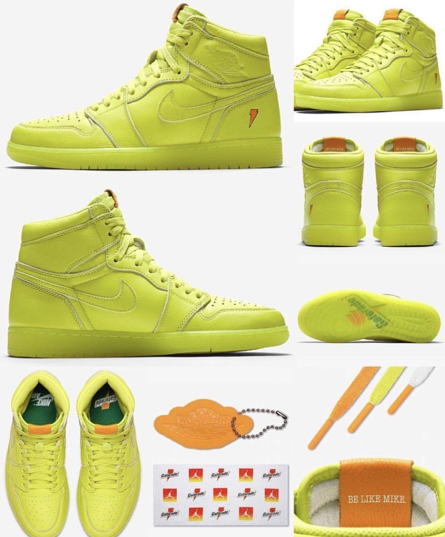 """Air Jordan 1 Retro High OG """"Lemon-Lime"""