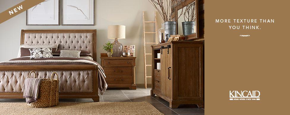 Kincaid Furniture | Kincaid furniture, Solid wood bedroom