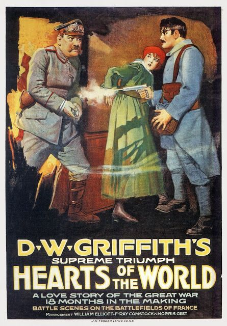 Image result for hearts of the world lillian gish
