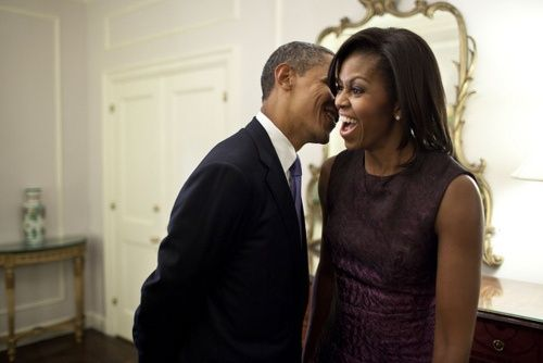POTUS and FLOTUS the-first-family