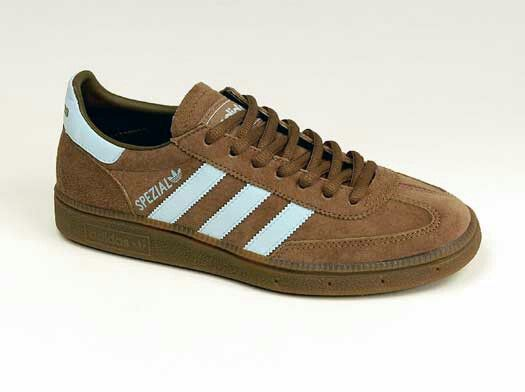 e1c12cb190af AN UNUSUAL COLOURWAY ON THESE SPEZIALS   BROWN WITH SKY BLUE TRIM Adidas  Og, Football