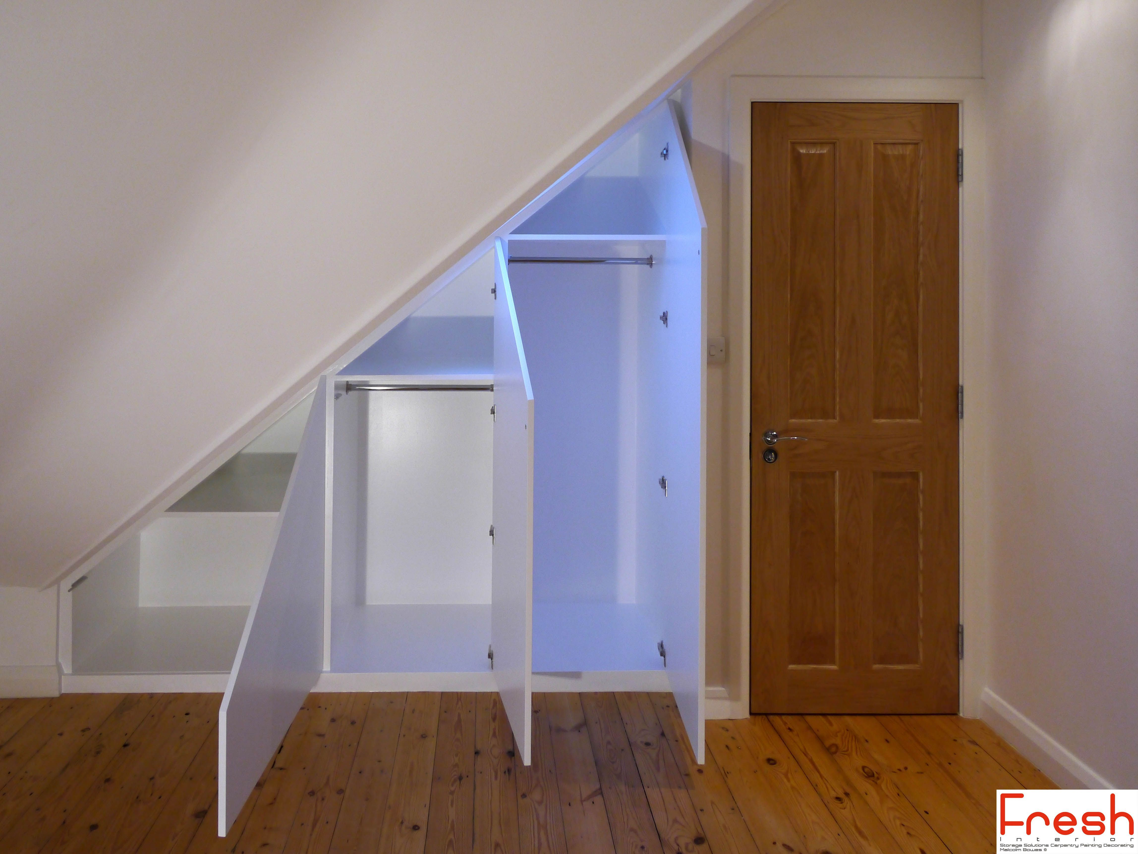 Loft bedroom with no door Easy And Cheap Tricks Attic Stairs Ideas attic home space saving