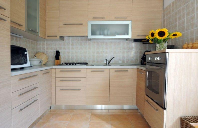 Complete Kitchen Cabinet Set Maple Cream Cabinets