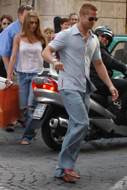 Brad Pitt & Jennifer Aniston | brennifer | Brad pitt ...
