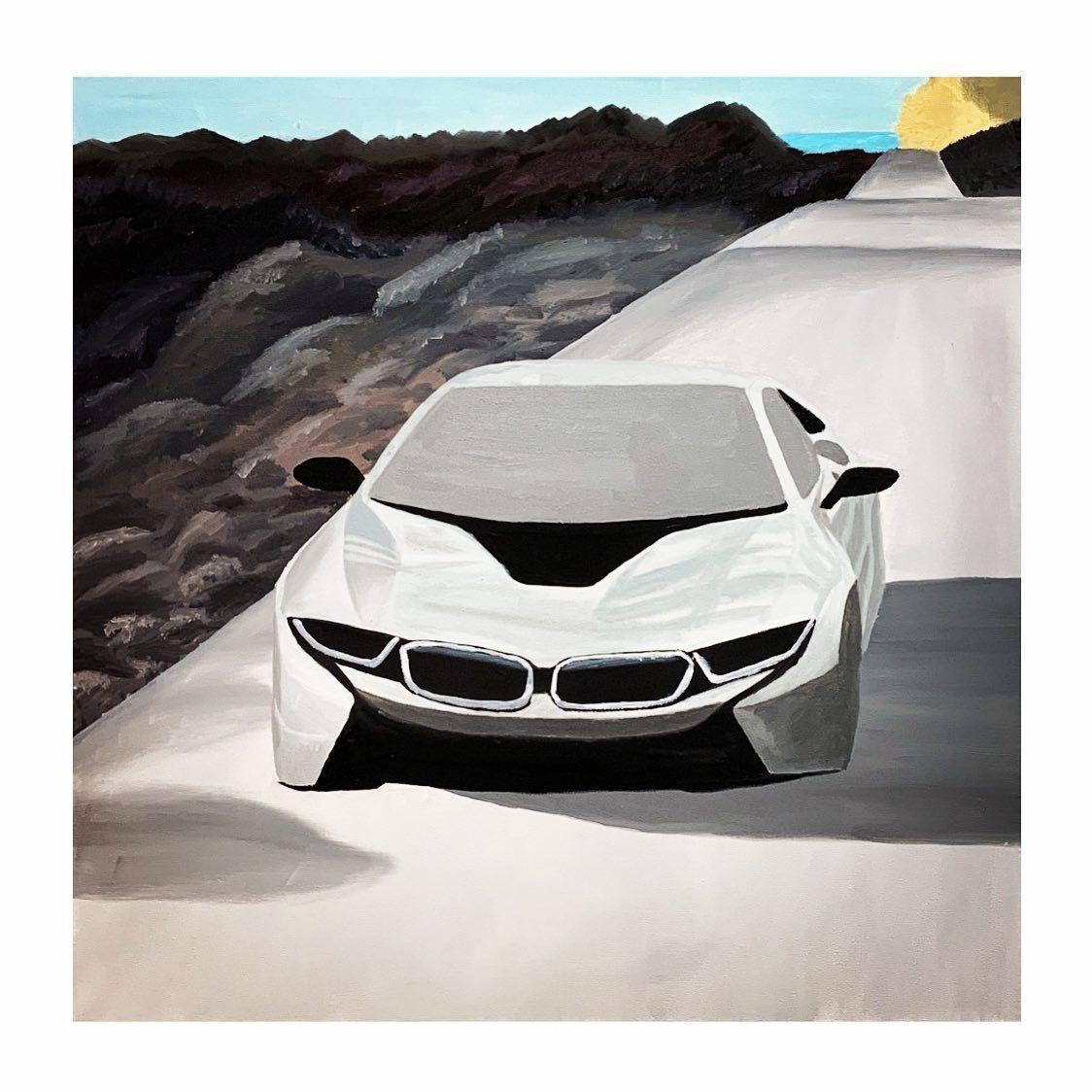 Es ist noch ein weiter Weg bis zur Vollendung des Bildes, aber ich bin auf einem guten Weg und der Gewinner des Bildes @max_28.05_ , darf sich auf ein Legendäres Bild freuen 😃 Alle anderen natürlich auch 😄 #bmw #bmwm #bmwdrawing #oilpainting #oil #firsttime #legend #electriccar #car #cardraw #drawings #art #artist #myart #artwork #illustration #color #colour #colorful #painting #sketch #pencil #beautiful