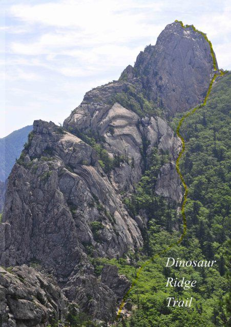 Hiking Dinosaur Ridge, Seoraksan National Park – Seoul Hiking Group
