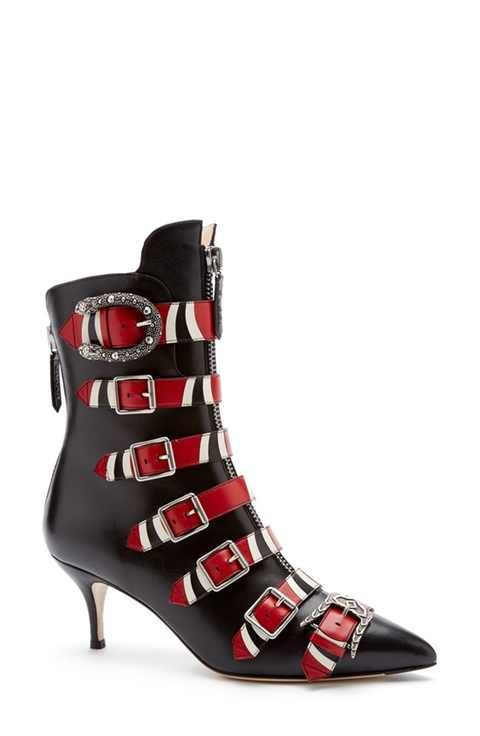 1bee48e5b Gucci Susan Snake Bootie (Women) | Heels Yes | Shoes, Gucci boots ...