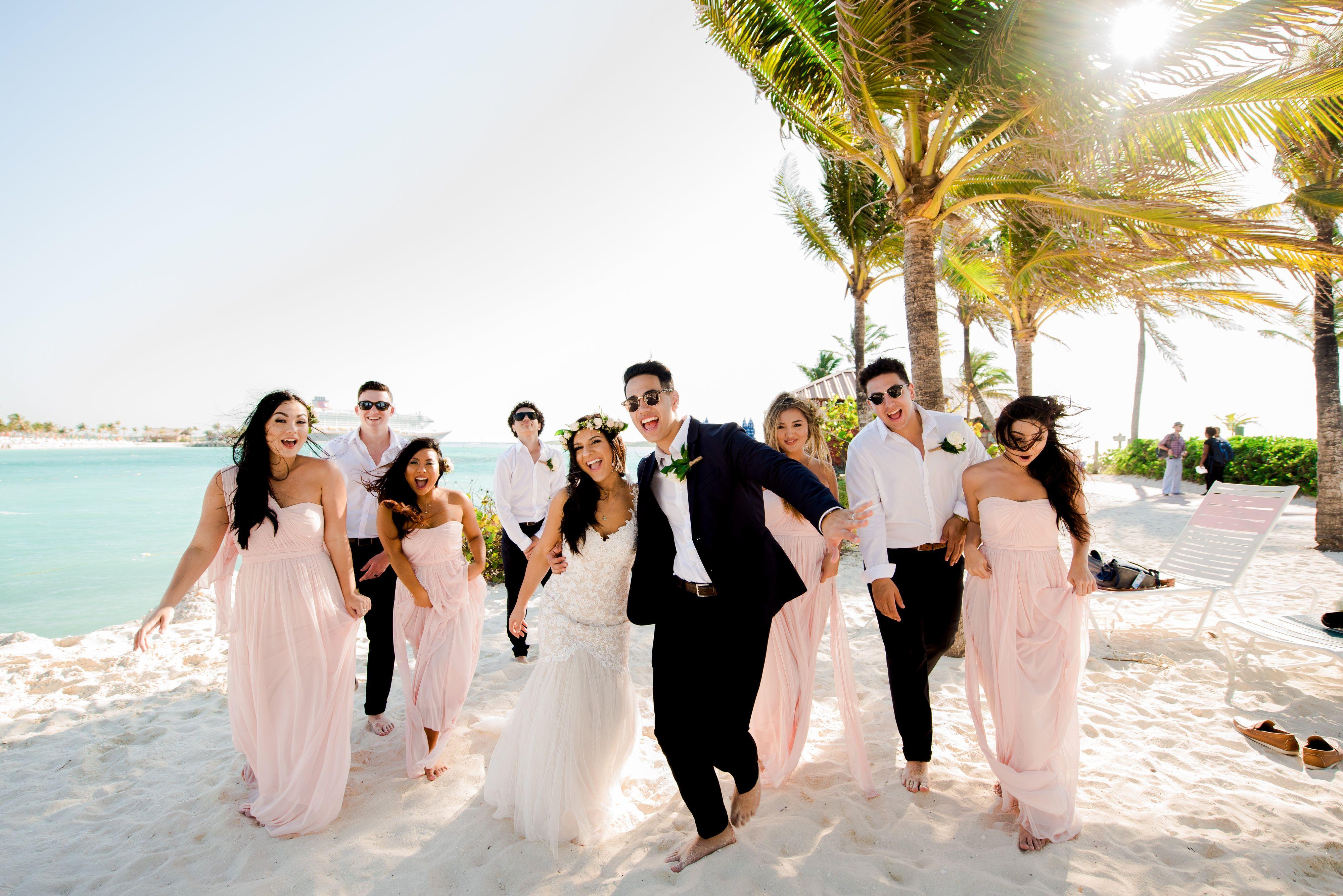Disney Cruise Line Wedding Disney Wedding Bridal Party Disney Cruise Wedding Disney Fairy Tale Weddings Disney Wedding