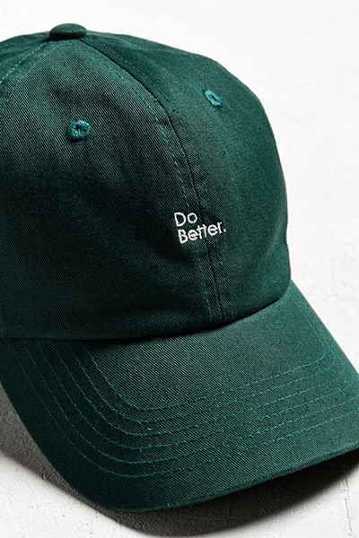 Do Better Baseball Hat Slytherin Artemis Crock Hats