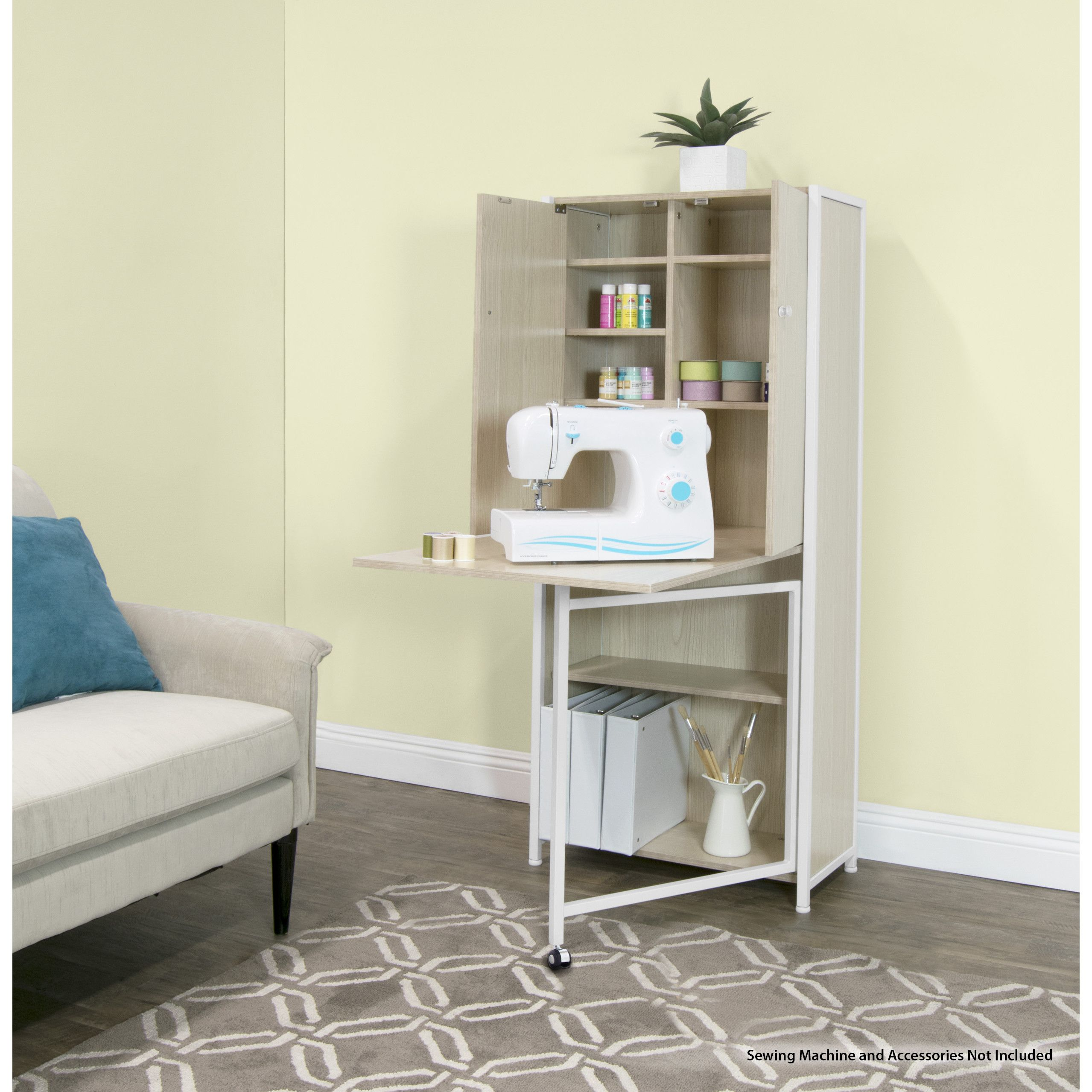 Superbe Sew Ready Multi Use Craft Armoire