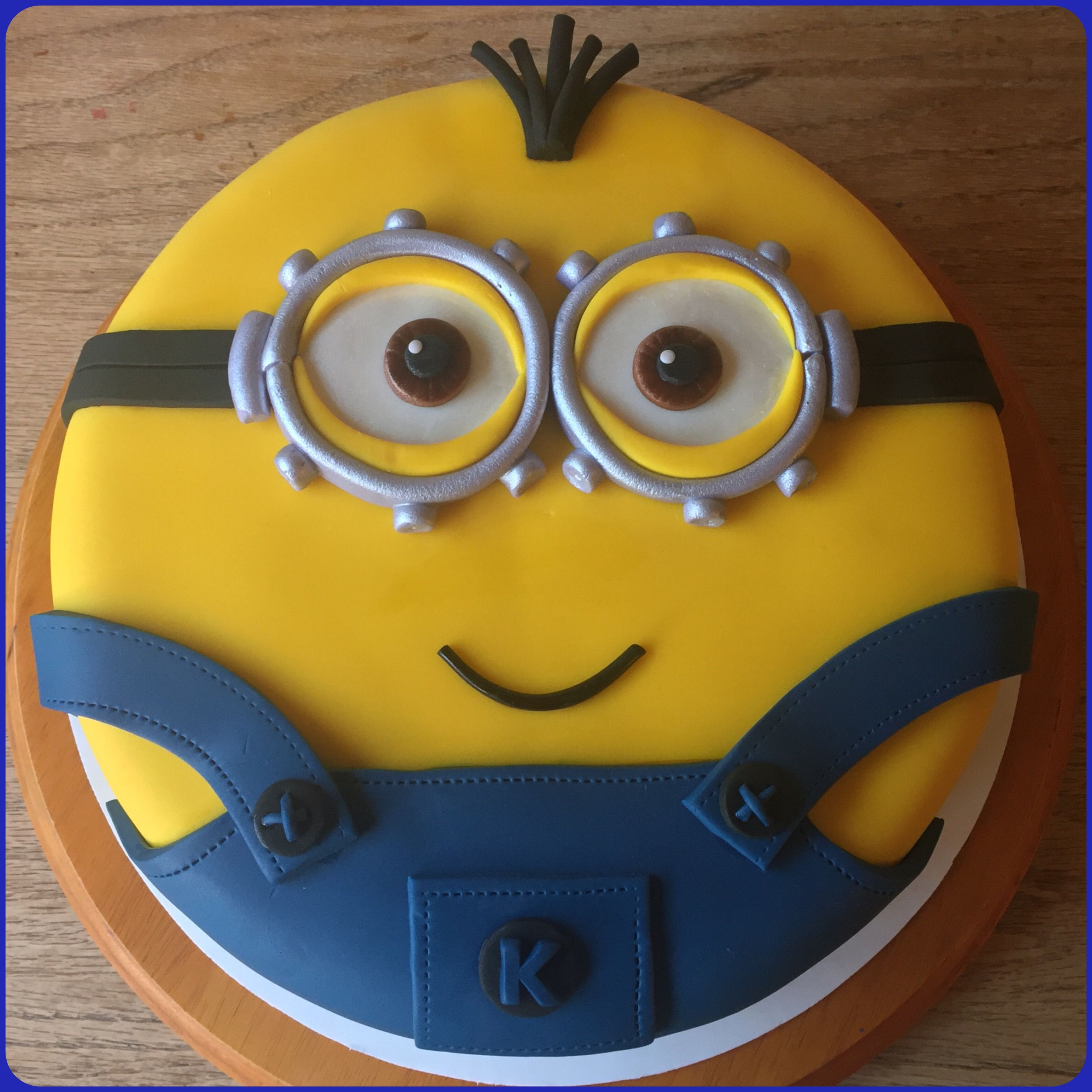 Its Kevin Minion cake Cakes and other treats made by me
