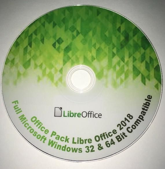 Libre Office DVD 2018 for Windows 32 & 64 bit alternative to Microsoft Office #excelwordaccessetc