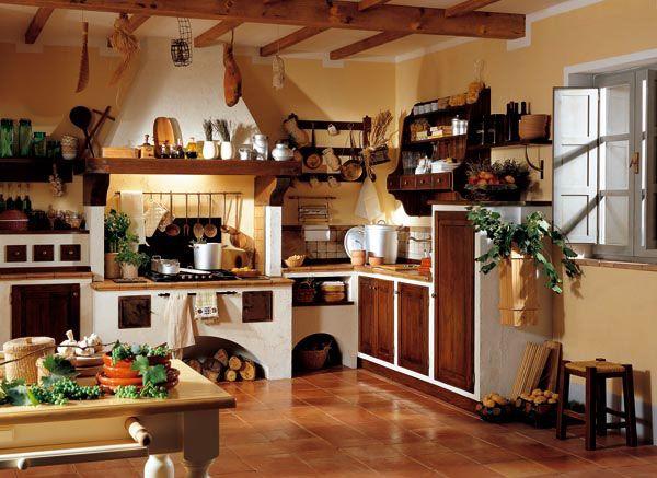 Giulia cucine country in arte povera | Lavori in corso di ...