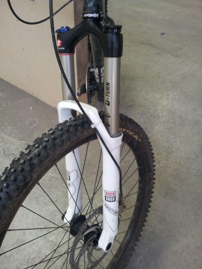 8f8144f2067 2011 - RockShox Sektor Mountain Bike Suspension, Merlin Cycles, Mtb,  Mountain Biking,