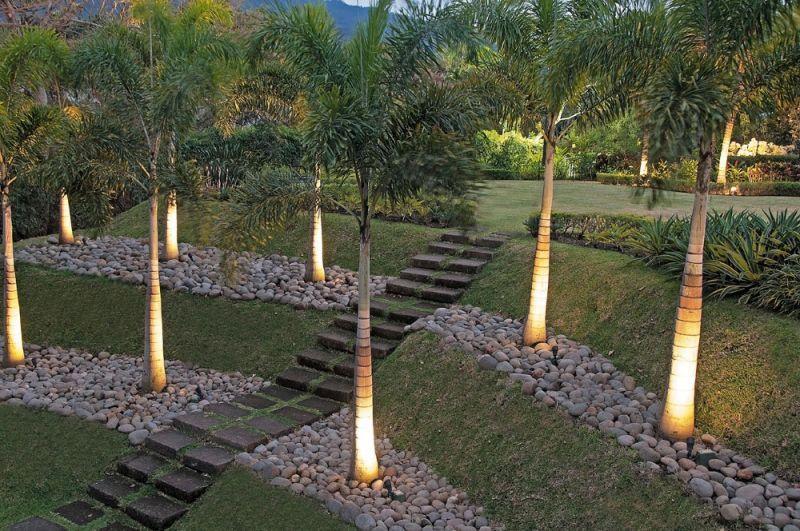 The Carvajal Residence; UDSLA.com | Tropical landscape ... on Uphill Backyard Ideas id=49015