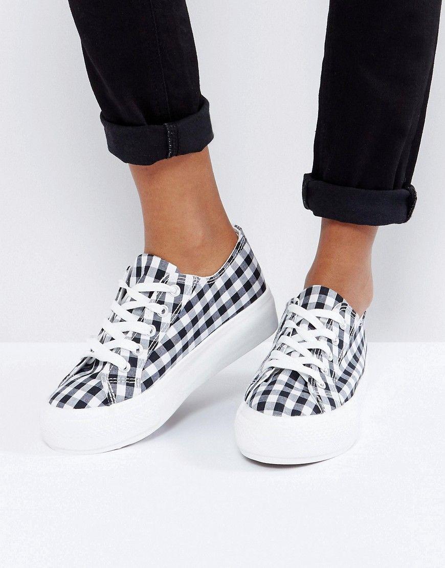 Compra Deportivas de mujer color negro de New look al mejor precio. Compara  precios de zapatillas de tiendas online como Asos - Wossel España