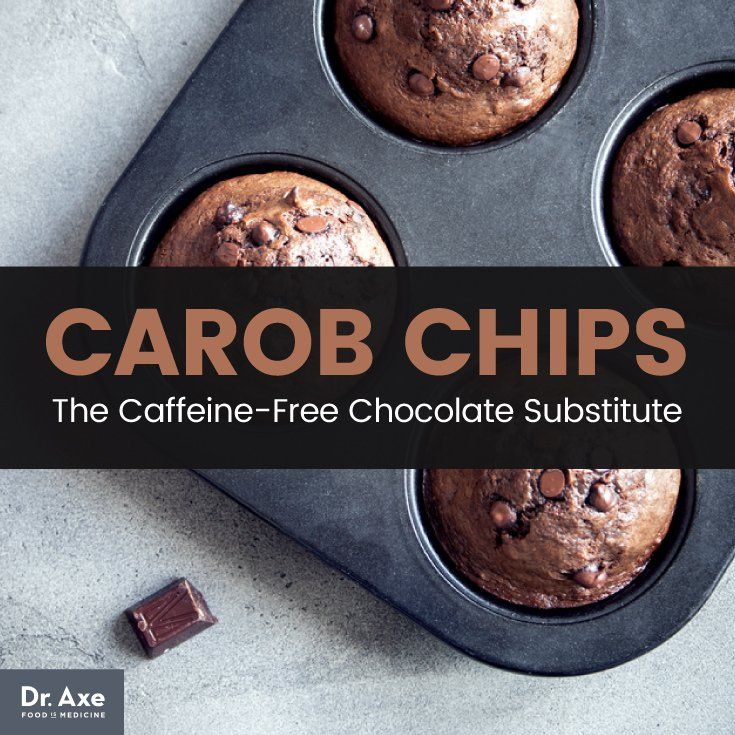 Carob Chips The CaffeineFree Chocolate Substitute that's