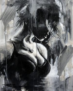 "Saatchi Online Artist Nena Stojanovic; Painting, ""Pendant"" #art"