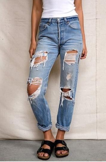 15 Pairs of Really, Really Ripped Jeans to Buy Now | Jeans, Urban ...