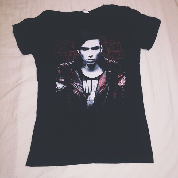 Black Veil Brides - Andy Tee Exclusive, sold out BVB merch! Hot Topic Tops Tees - Short Sleeve