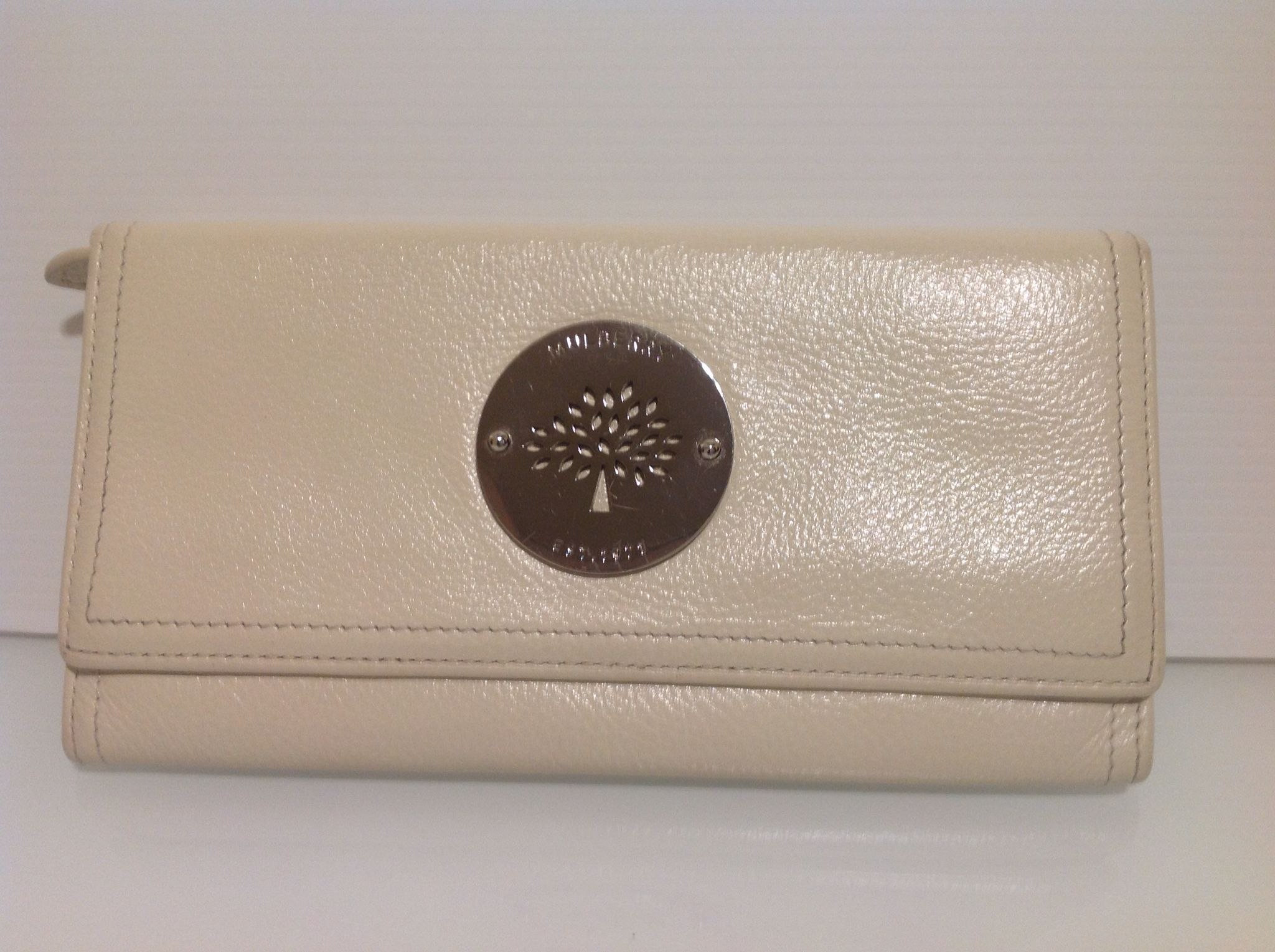Authentic Mulberry Daria Continental Leather Purse Wallet In