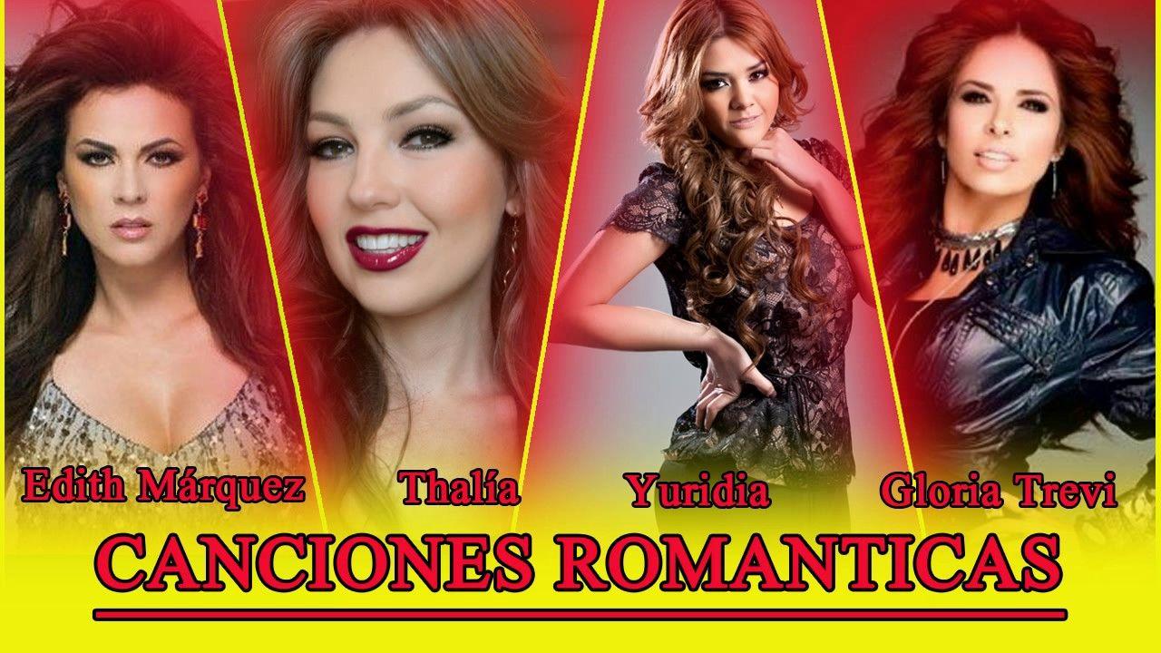 Edith Márquez, Thalía, Gloria Trevi, Yuridia EXITOS Sus