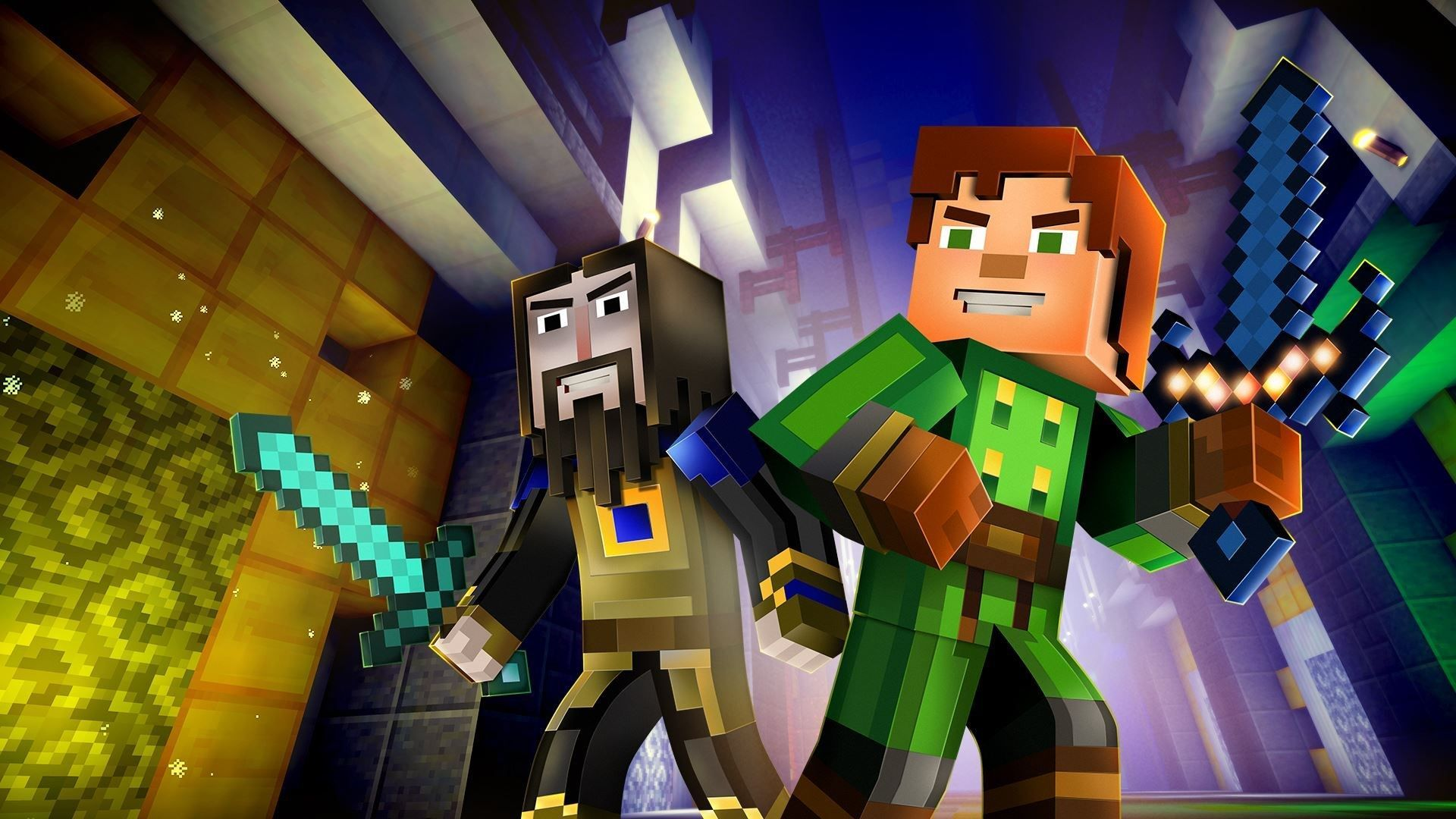 Minecraft Story Mode Wallpaper Full Hd Festival Wallpaper