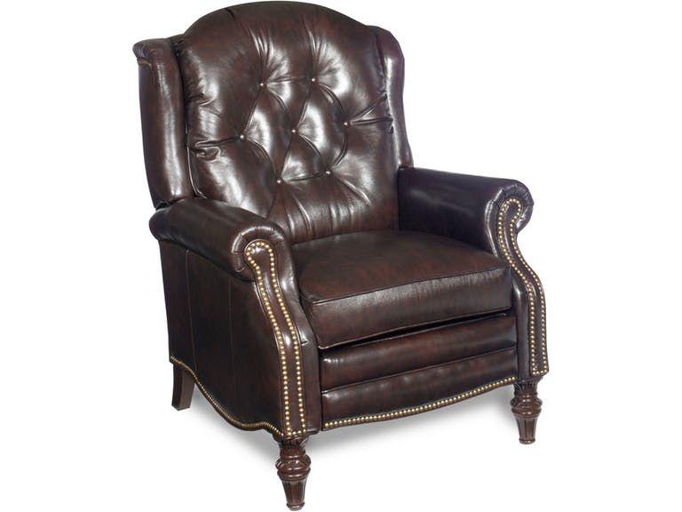 Bradington Young Victoria High Leg Reclining Lounger 4275 Bradington Young Recliner Traditional Recliner Chairs