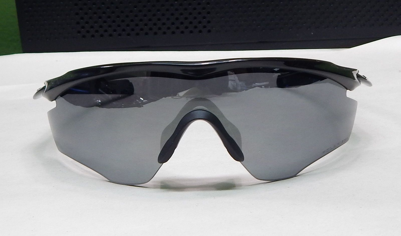 d2e23a4848e Oakley Sunglasses  M2 Frame Asian Fit - Polished Black -Black Iridium  Polarized