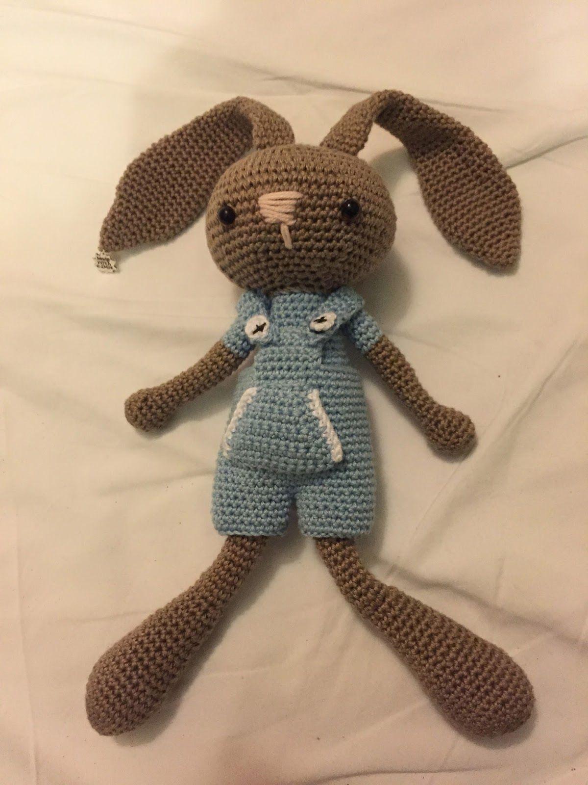 Haaklinks: Konijntje! | Crochet bunny\'s | Pinterest | Patrones ...