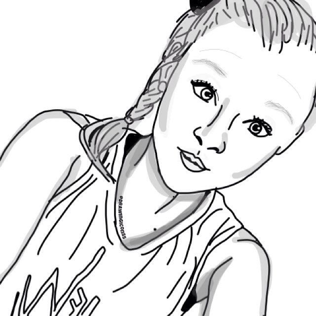 Jojo Siwa With Images Jojo Siwa Drawings Coloring Pages