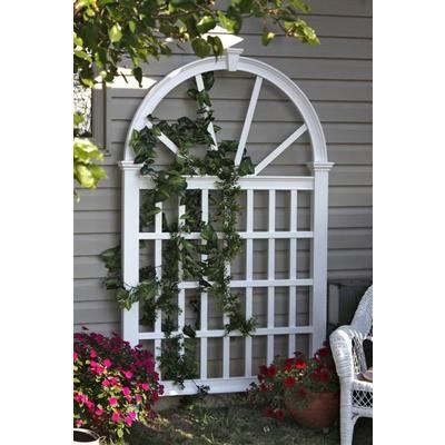 new england arbors vienna trellis va68203 home depot canada garden trellisgarden structuresvegetables