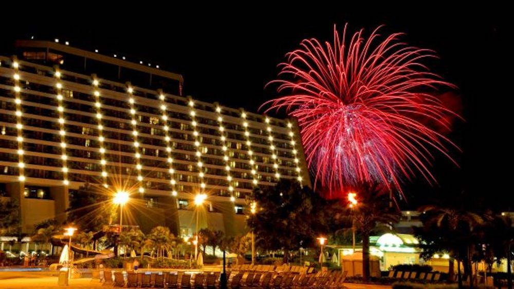 New Years Celebrations at Disney's Contemporary Resort