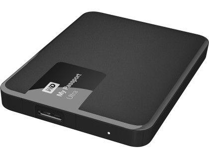 Wd My Passport Ultra 1tb External Usb 3 0 2 0 Portable Hard Drive Classic Black