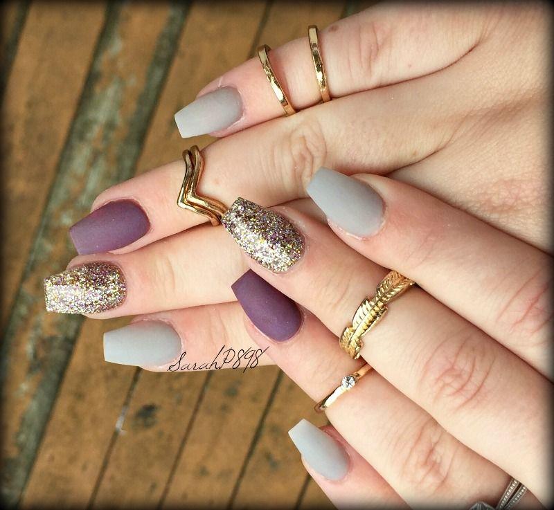fall matte nails | Nails | Pinterest | Matte nails, Make up and Nail ...