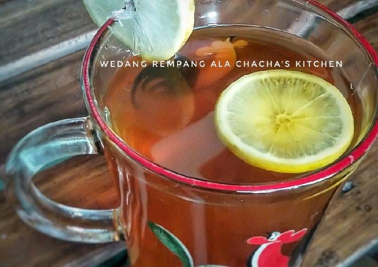 Resep Wedang Rempang Rempah Rimpang Mantap Resep Rempah Kayu Manis Masakan Indonesia