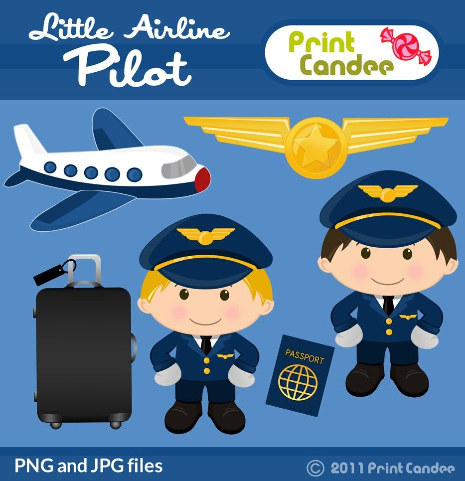 Print candee little airline pilot 350 httpprintcandee craft sciox Choice Image