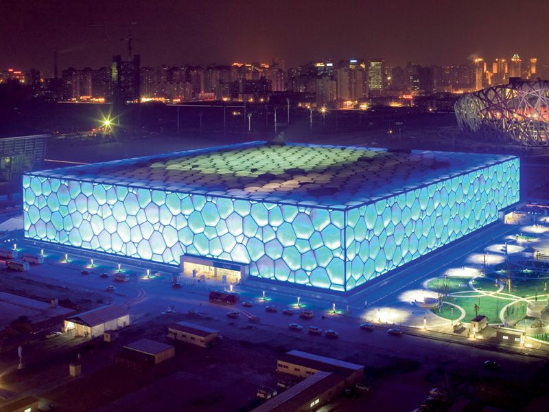 Water Cube (Beijing National Aquatics Center), Beijing