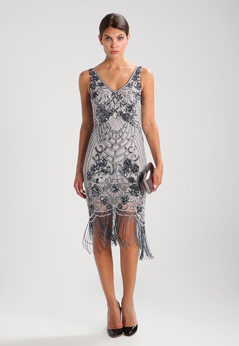 BELICIA FLAPPER TASSLE - Cocktailkleid/festliches Kleid - nimbus ...